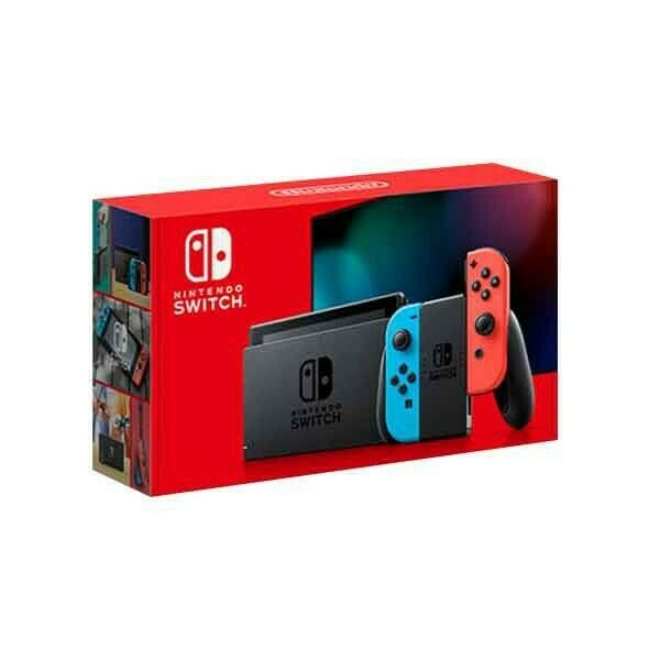 Nintendo Switch 32GB v2 Console newest version with Gray Joy Con