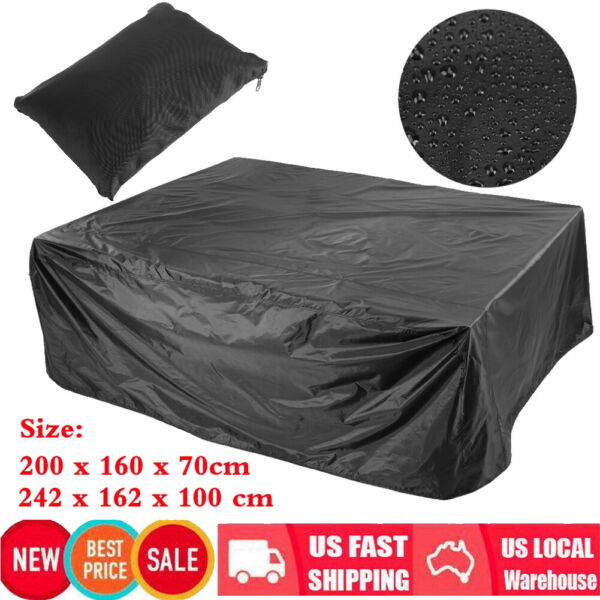 Waterproof Sofa Furniture Cover Patio Outdoor Garden Rattan Sofa Protection US $19.26