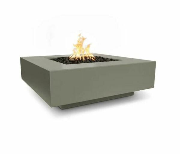 48quot; Cabo Square Fire Pit Match Lit Natural Gray LP OPT CBSQ48 NGY LP