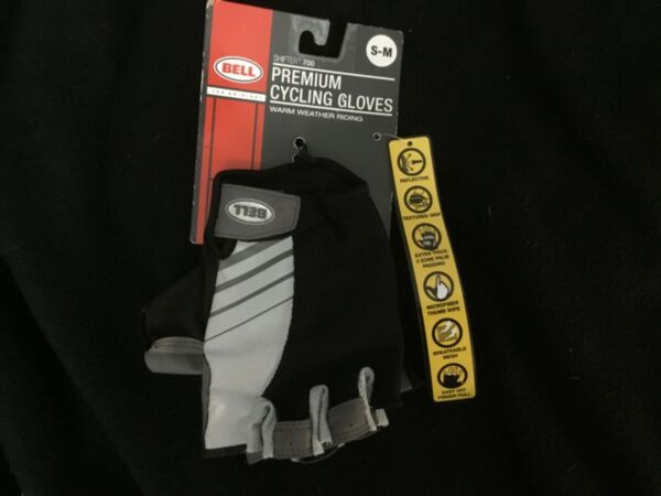 NEW Bell Shifter 700 Premium Cycling Bike Riding Gloves Adult S M Small Medium $12.00