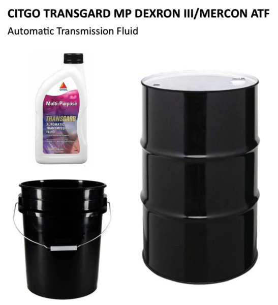 Citgo MP Dexron III Mercon ATF; 4 or 12 Qt Bottles 5 Gal Pail or 55 Gal Drum $950.00