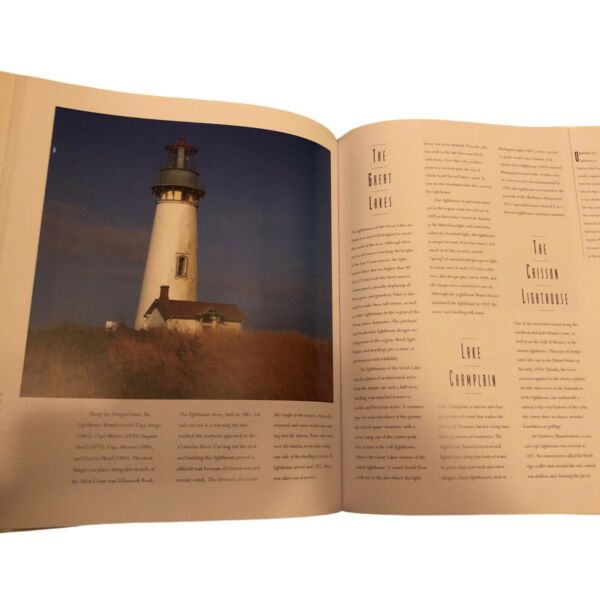 Lot of Two LIGHTHOUSE PICTURE COFFEE TABLE BOOKS