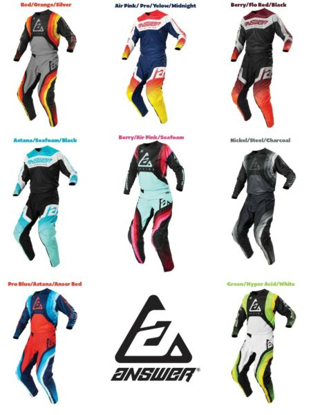 2021 Answer Racing Dirt Bike Gear Syncron Motocross Pants Jersey MX Off Road Atv $79.95