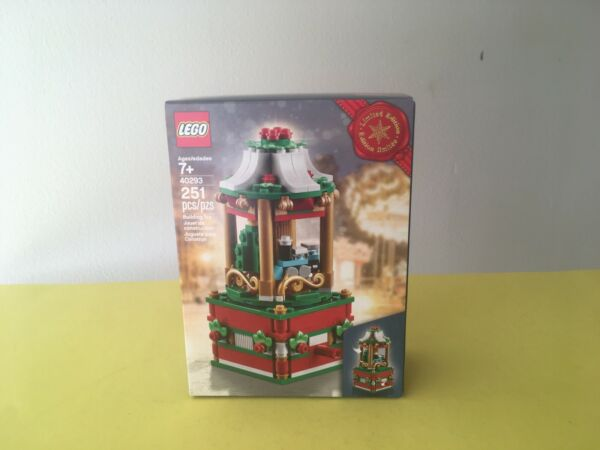 2018 Lego Christmas Carousel 40293 Exclusive New Not 40337 or Tree 40338