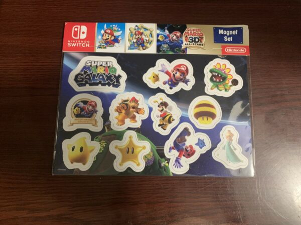 Super Mario 3D All Stars Promotional Magnet Set Target Exclusive $22.99