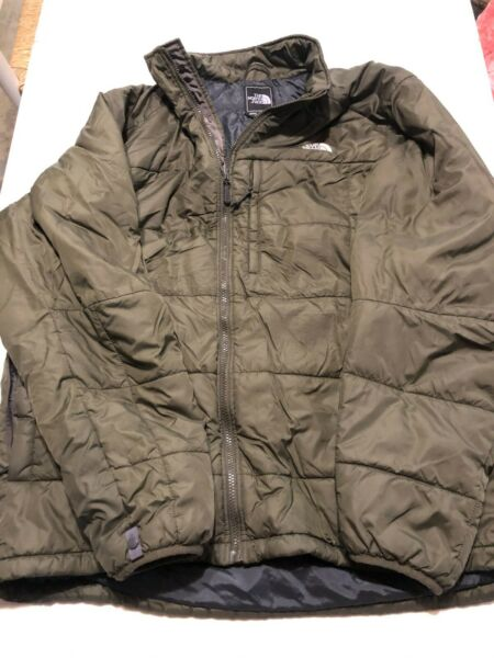 The North Face MENS Quilted Jacket Winter Coat Puffer Primaloft Size XXL