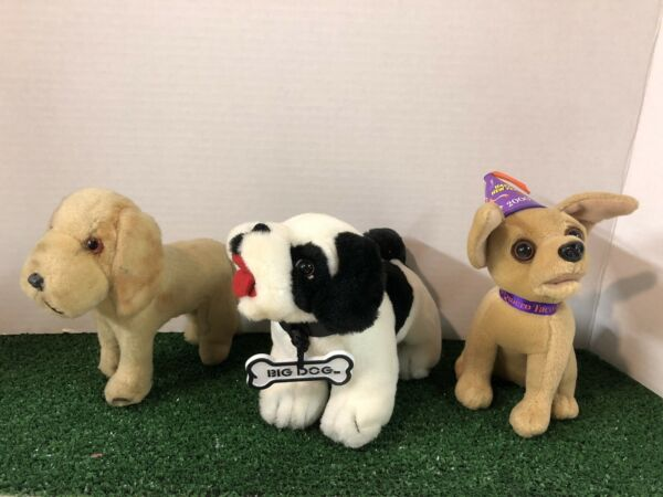 3 Vintage Dogs Big Dog Taco Bell Dog amp; 1950s Dog Good Condition $15.00