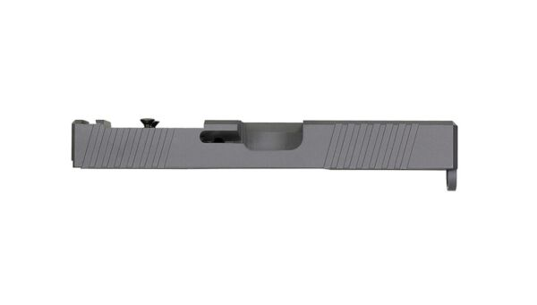 KMT Slide for Glock 19 PF940c Slide w Serrations G19 Gen 3 w RMR Cutout Grey $199.99