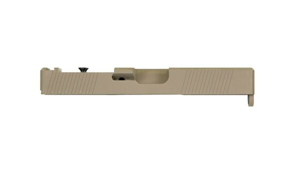 KM Slide for Glock 17 PF940v2 Slide w Serrations G17 Gen 3 FDE w. RMR Cutout 17 $180.99