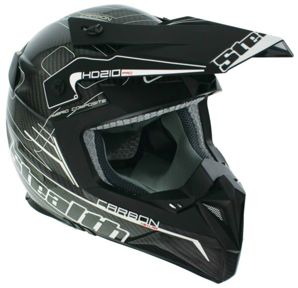Stealth Pro Carbon HD210 Motocross Helmets Various Colours and Sizes $190.47