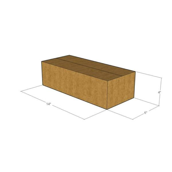 14x6x4 New Corrugated Boxes for Moving or Shipping Needs 32 ECT $14.12