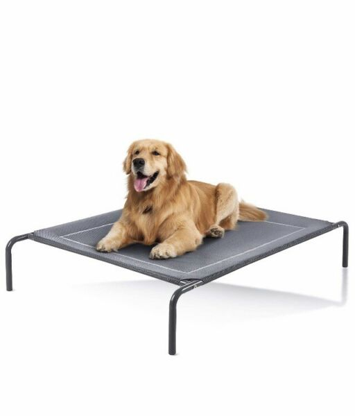 Love#x27;s cabin Outdoor Elevated Dog Bed 49in Cooling Pet Dog Beds for Extra $25.00
