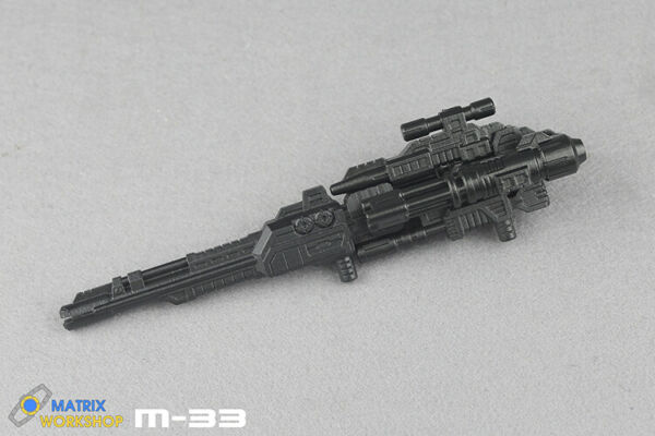 Matrix Workshop M 33 upgrade Kit for Bruticus 6 small guns make 1 big gun COOL