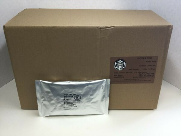 Starbucks Pike Place Roast Coffee Filter Packs 2.5 Oz Portion Packs 10Lbs