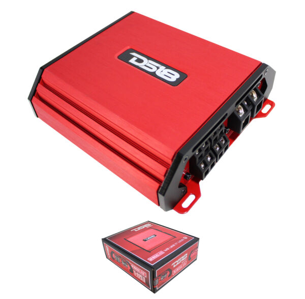 DS18 Select Red 1500 Watt 4 Channel Full Range Class D Amplifier S1500.4D