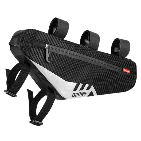 Waterproof Bicycle Bag Cycling Tube Front Frame Bag MTB Road Bike Accessories $19.35