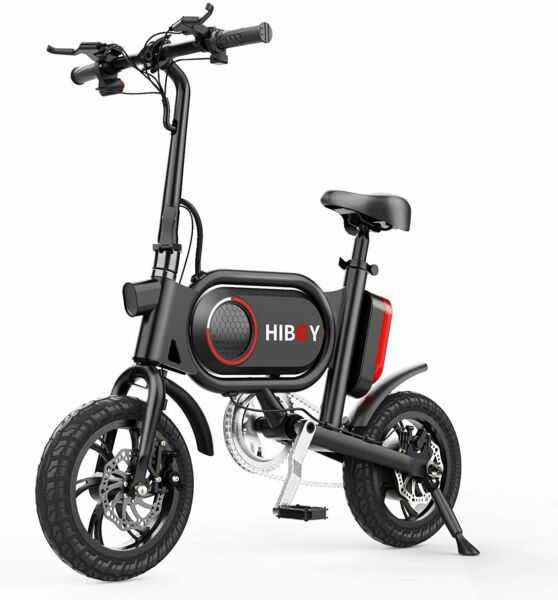 Hiboy P10 Folding Electric Bike for Adults Power Assist 36V Lithium Ion Battery $399.00