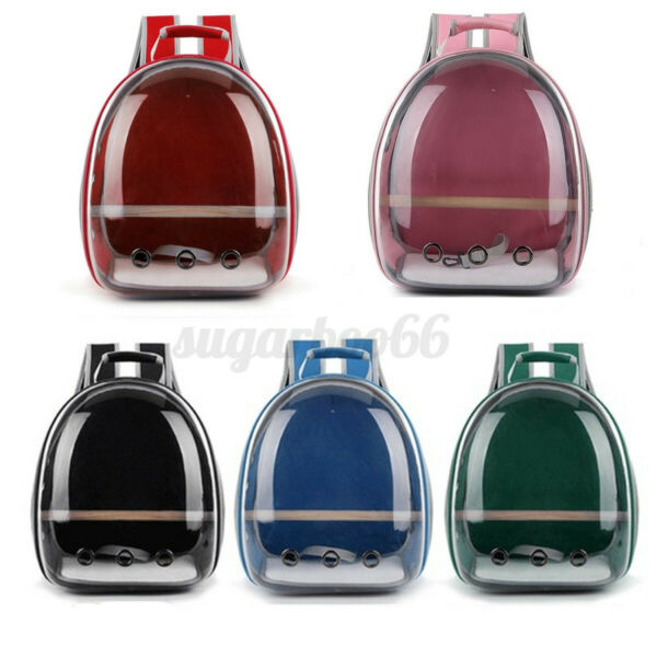 Pet Portable Carrier Backpack Space Capsule Travel Dog Cat Transparent Bag Tote $39.80