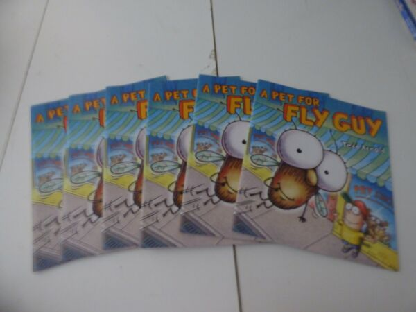 A Pet for Fly Guy Tedd Arnold Set of 6 Level K Brand New Guided Reading $12.99