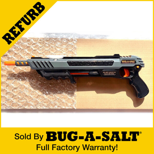 UNBOXED REFURBISHED BY BUG A SALT TECHNICIANS BLACK FLY 3.0 GUN $42.95