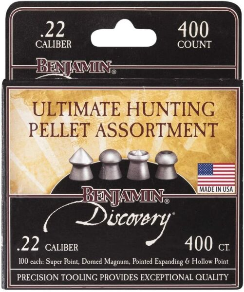 Benjamin 22BHPA Ultimate Hunting Pellet Assortment .22 Caliber $17.74