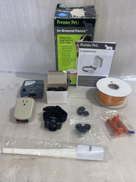Premier Pet In Ground Fence GIG00 16919 New Open Box 500#x27; Wire $59.99