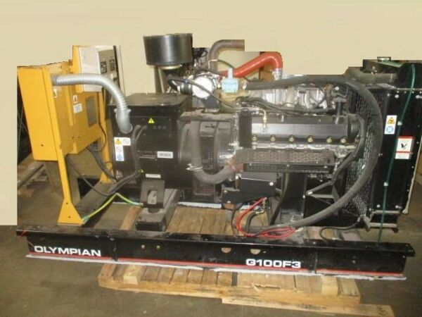 100KW Propane or Natural Gas Cat Olympian 480V Generator $10500.00