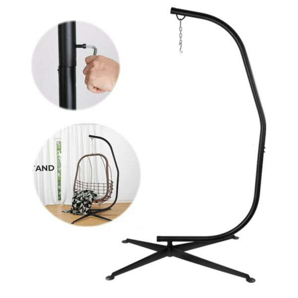X Hammock Stand Frame Solid Steel Construction For Hanging Air Porch Swing Chair $103.99