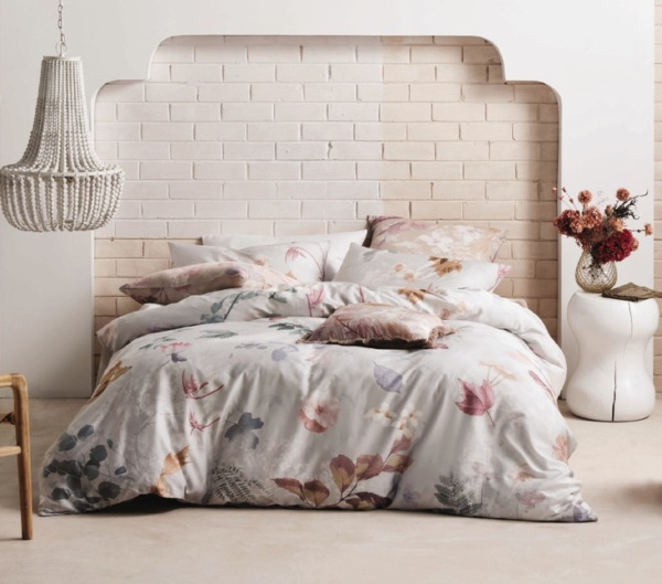 Linen House Australia Jacinta Silver Queen Bed Quilt Set Pillowcase NEW RRP$220 AU $128.88