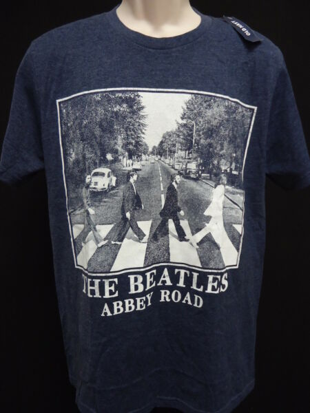 Beatles Abbey Road Vintage Wash Tee T Shirt Collectabilitiees M