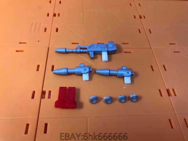 3D DIY weapon upgrade weapon and wheel KIT FOR earthrise Bluestreak