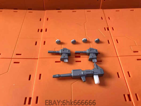 3D DIY weapon upgrade weapon and Hub cover KIT FOR earthrise Smokescreen