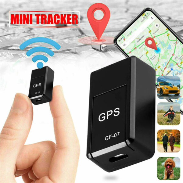 Mini GF 07 Magnetic Car Vehicle GSM GPRS GPS Tracker Locator Real Time Tracking $6.88