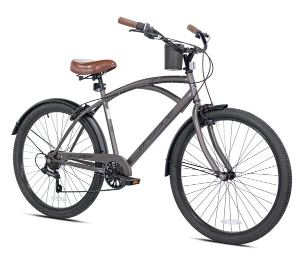 NEW 26quot; Mens Kent Bayside 7 Speed Bicycle Shimano Steel Frame Hot Rod Cruiser $158.60