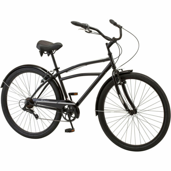 Schwinn Men#x27;s 29quot; Midway Cruiser Bike Steel Frame Comfort Ride 7 Speeds $291.02