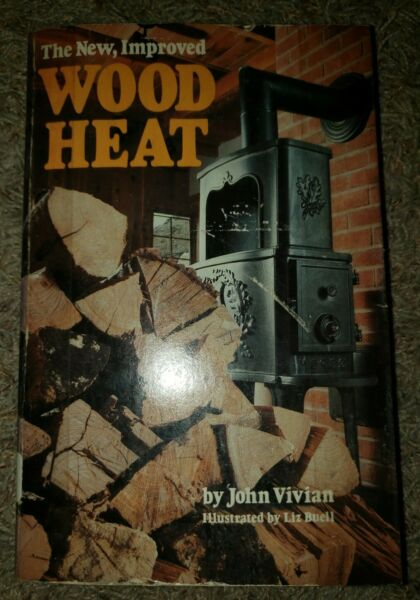 Wood Heat by John Vivian 1978 Softcover Library Discharge Good Condition $8.00