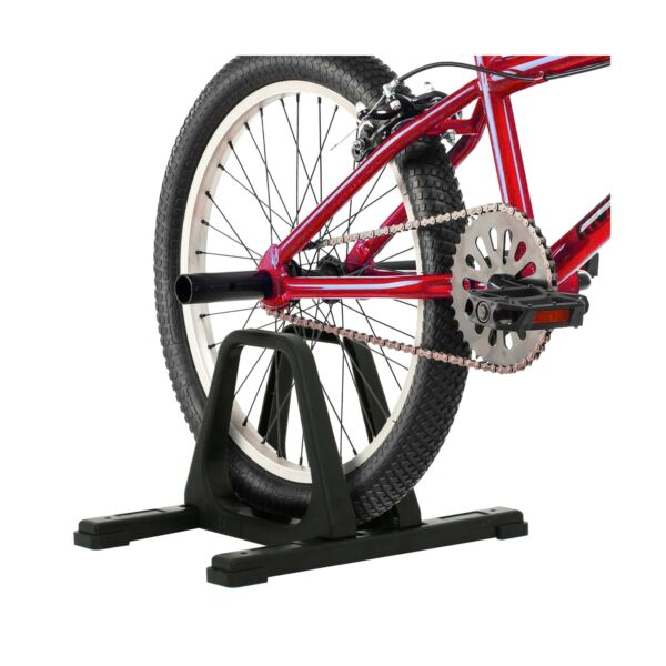 Rad Cycle Bike Stand Portable Floor Rack Bicycle Park Lightweight Comfortable $22.00