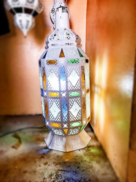 Traditional Morrocan lamp hanging lighting electric and table lamps ceiling fans $65.99