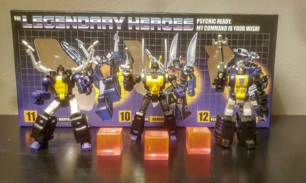 Transformers Newage Insecticons Original 100% Complete
