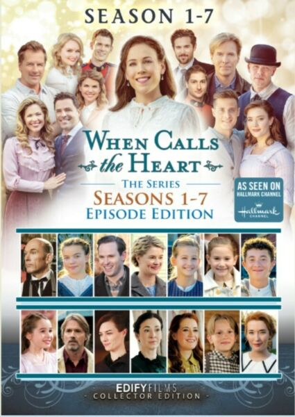 DVD When Calls The Heart: Seasons 1 7 Epsiode Edition 16 DVD