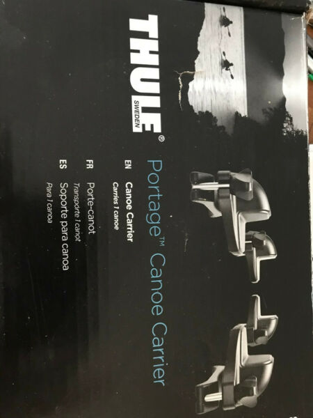 Thule 819 Portage Canoe Carrier. New in original box. Never used. $100.00