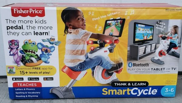 NIB Fisher Price Think amp; Learn Smart Cycle Bike Bluetooth Apple Android 100% $165.99