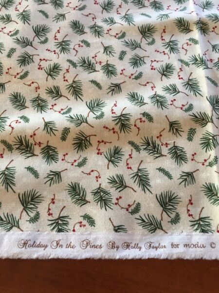 Holiday In The Pines Moda Christmas Fabric 4 Yards