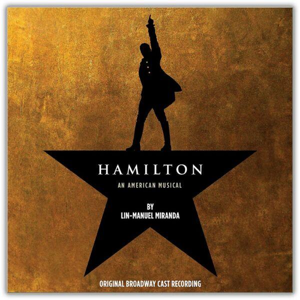 WEA Various Artists Hamilton Original Broadway Cast Explicit 4Lp Vinyl