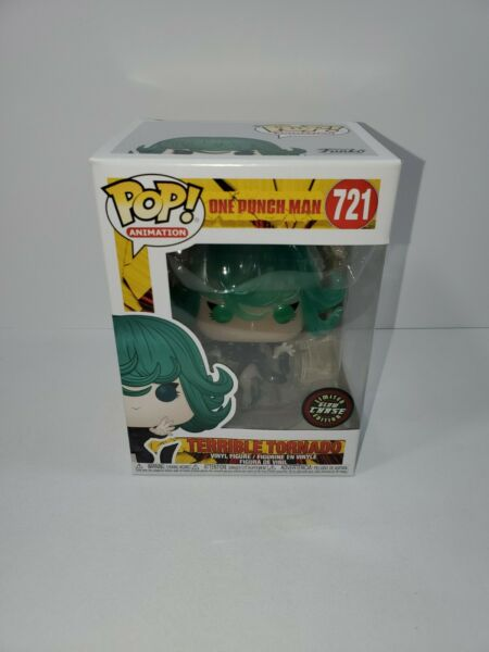 Funko POP One Punch Man S2 TERRIBLE TORNADO #721 Glow in the dark CHASE