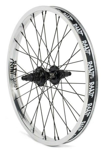 RANT PARTY ON BMX BIKE BIKE 20quot; REAR WHEEL FIT DK CULT SHADOW SUBROSA SILVER RHD $134.99