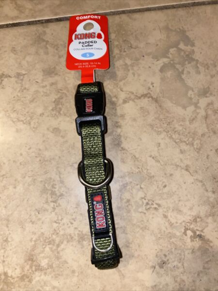 KONG Dog Collar Small 10 14 Inches Comfort Green NEW $15.00