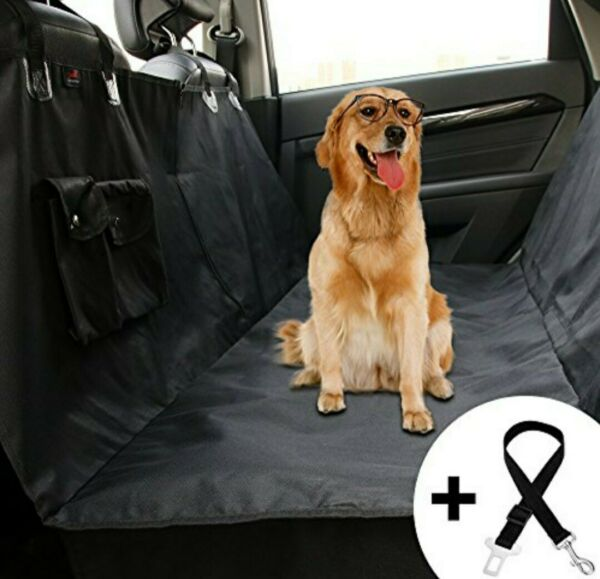 Honest Dog Car Seat Covers with Side Flap Pet Backseat Cover for Cars Trucks $19.99