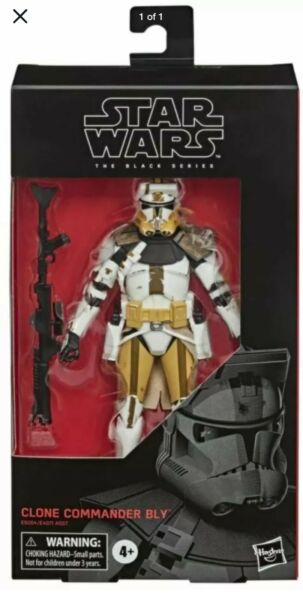 IN HAND Star Wars The Black Series Clone Commander Bly Action Figure FREE SHIP