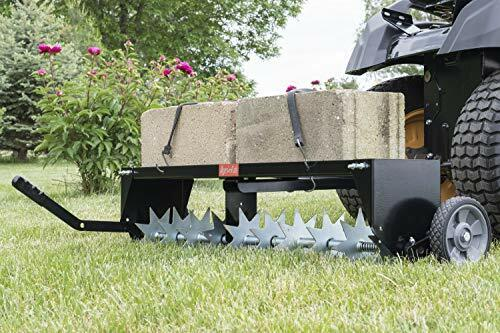Spike Aerator With Folding Hitch For Easy Storage Galvanized Steel Aeration New $163.53